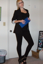 Express blazer - Express top - Express leggings - DSW shoes