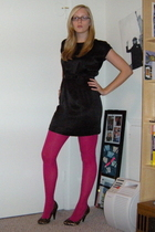 H&M dress - tights - Rocket Dog shoes