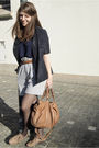 Gray-zara-shorts-brown-h-m-trend-belt-blue-gap-vest-blue-h-m-trend-blazer-