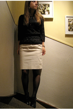 H&M Trend top - skirt - shoes