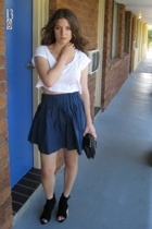 top - H&M Trend skirt - asos shoes - H&M accessories