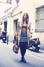 Camel-uniqlo-coat-heather-gray-uniqlo-skirt-silver-ebay-accessories