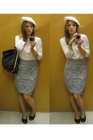 top - H&M Trend skirt - H&M hat - ShopLushcom purse