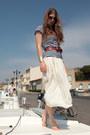 Ivory-silk-vintage-skirt-navy-striped-zara-t-shirt-h-m-bracelet-tawny-h-m-