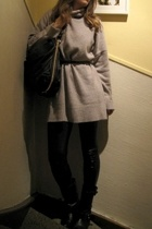 Zara sweater - Ebay pants - vagabond shoes