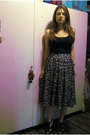 H&M top - H&M Trend skirt - Zara shoes - shoplush purse