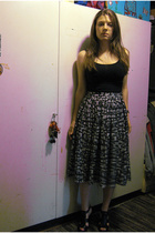 H&M top - H&M Trend skirt - Zara shoes - shoplush purse
