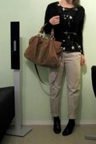 H&M shirt - Uniqlo - H&M pants - shoes - Uniqlo belt
