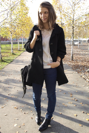 H&M Trend coat - H&M Trend blouse - Cheap Monday jeans - Local shop shoes - from