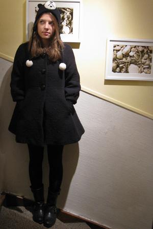 H&M Trend coat - vagabond shoes - - hat