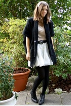 Vero Moda vest - H&M Kids skirt - Uniqlo t-shirt - Zara belt - from Tokyo access