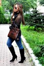 Blue-james-jeans-jeans-black-steve-madden-boots-dark-brown-fontanelli-bag