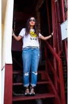 rag&bone jeans - Stussy shirt