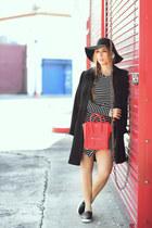 cicihot dress - asos coat - asos hat