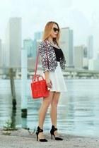 Hot Miami Styles blazer - Celine bag - Charlotte Russe heels
