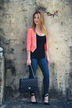 Chanel bag - Hot Miami Styles cardigan