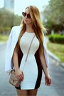 Hot-miami-styles-dress-marciano-blazer-rebecca-minkoff-bag