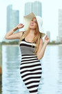 Hot-miami-styles-dress-missguided-hat