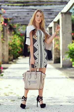 Charlotte Russe dress - Celine heels - Charlotte Russe heels