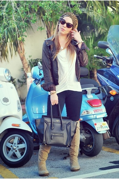 Celine bag - Hot Miami Styles boots - Aldo jacket