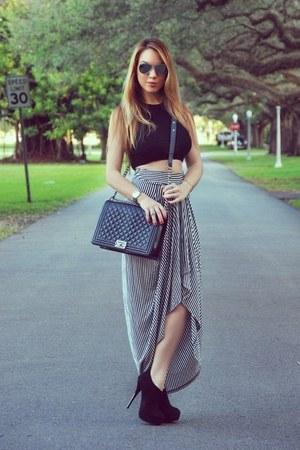 Hot Miami Styles skirt - Chanel bag