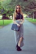 Hot Miami Styles skirt - Chanel bag