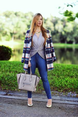 2020AVE blazer - Hot Miami Styles jeans - Celine bag