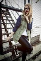 Zara jacket - All star sneakers