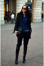 Black-overknee-kurt-geiger-boots-mango-coat