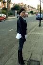 White-asos-shirt-black-giuseppe-zanotti-boots-charcoal-gray-j-brand-jeans