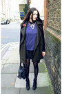 Black-ankle-boots-topshop-boots-mango-coat-black-leather-zadig-voltaire-bag