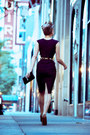 Red-leopard-print-naughty-monkey-heels-deep-purple-fall-stop-staring-dress