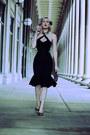 Black-mermaid-pollypop-dress-black-leopard-print-9th-elm-bag