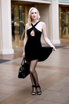 black lbd Lulus dress