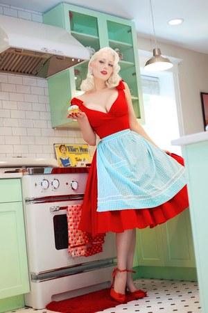 red The Pretty Dress Company dress
