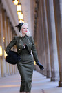 Olive-green-beret-milli-starr-hat-army-green-wool-atelier-jensen-jacket