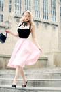 Black-box-old-bag-black-doll-me-up-top-pink-midi-miss-candyfloss-skirt