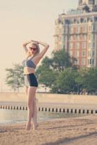 black gingham Sugar Doll Swim swimwear - ruby red Marilyn Eyewear sunglasses