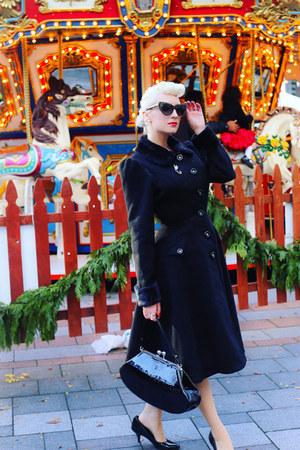 black crystal Marilyn Eyewear sunglasses - black unique vintage coat