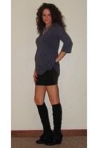 black Target socks - black Silence & Noise skirt