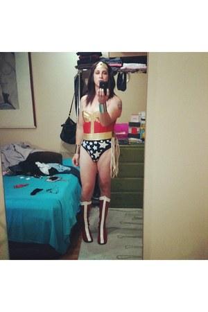 Funtasma boots - intimate - tommy bahama swimwear - belt - bracelet