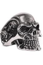 punk skull ring ring
