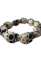 stone skull bracelet