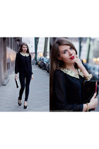black chicnova blouse