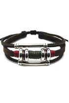 leather  hemp bracelet