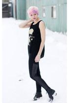 chicnova shirt - blackpuleggings chicnova leggings