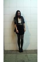 jacket - belt - H&M shoes