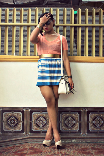 July skirt - Maple shirt - Parkmall bag - Centropelle pumps
