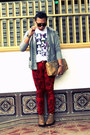 So-fab-boots-sm-dept-store-shirt-vintage-bag-tuk-pants-gitti-cardigan