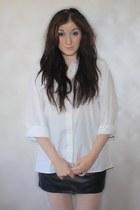 Marks&Spensor shirt - VDOXNOVENIE skirt